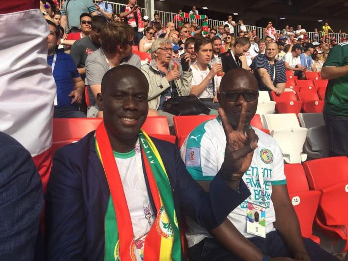 Russie 2018 : Le Président Malick Gakou au stade pour supporter les Lions