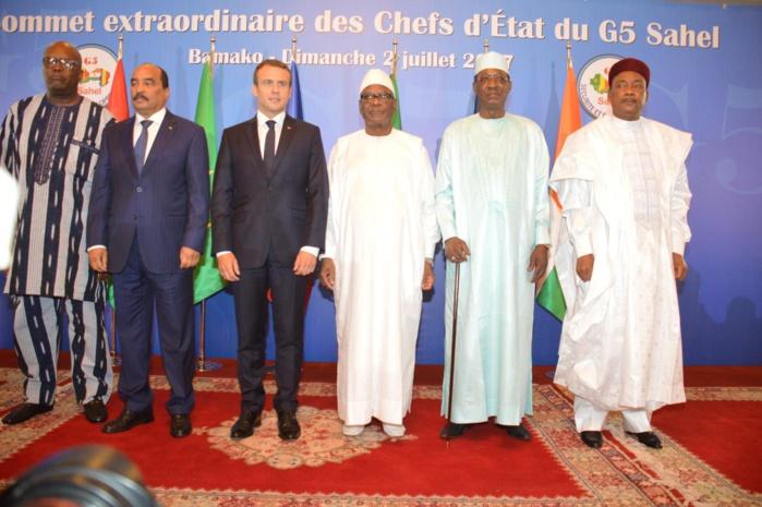 Sommet de l'Union africaine à Nouakchott : Macron à la rescousse du G5 Sahel