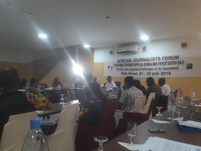 Journalisme d'investigation : Le Sg du ministère de la communication ravi de la mise en place d'une plateforme d'appui