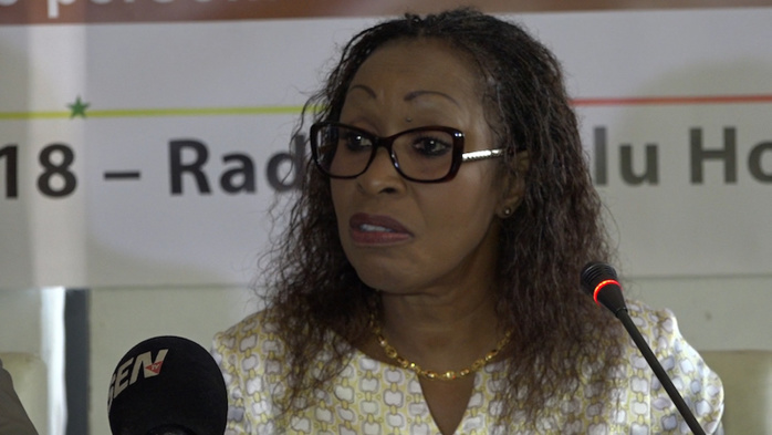 Parrainage électoral, Awa Ndiaye invite les candidats à respecter les données personnelles