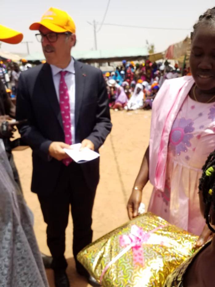 Ndiaffate : Cérémonie de signature d'un protocole d'accord entre la commune et les Salins (Images)