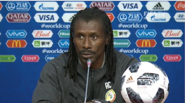Aliou Cissé sur les remplaçants : « Je n'ai pas vu un joueur qui ne joue pas et qui est heureux »