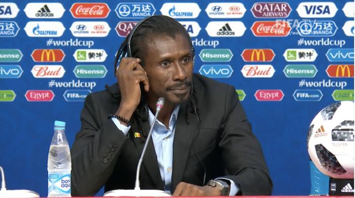 Aliou Cissé justifie : « On a beaucoup travaillé ces coups de pied arrêtés, que ce soit offensivement ou défensivement »
