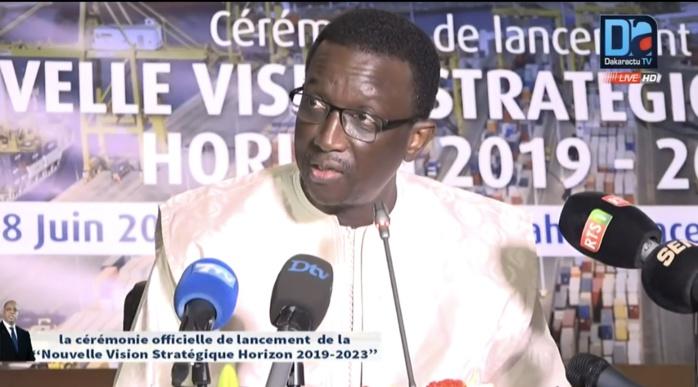 Rétablissement de la ligne ferroviaire Dakar-Bamako : Le ministre de l'Economie et des Finances rassure le Directeur du Port