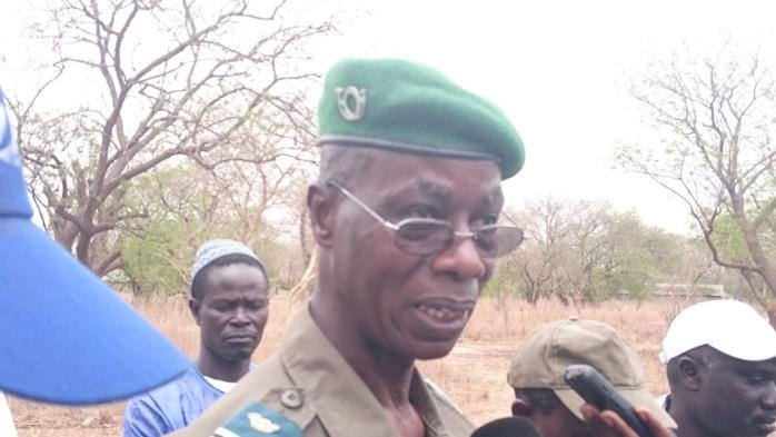 """Commandant Abdourahmane Diagne, Chef d'inspection régionale des Eaux et Forêts de Fatick : """" La coupe frauduleuse de bois est un phénomène que nous combattons au jour le jour... Et pour cela, il n'y a pas de répit pour les services forestiers"""""""