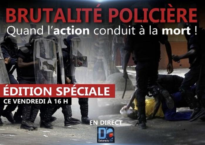 Bavures policières : Grand Débat sur Dakaractu ce vendredi à partir de 16h