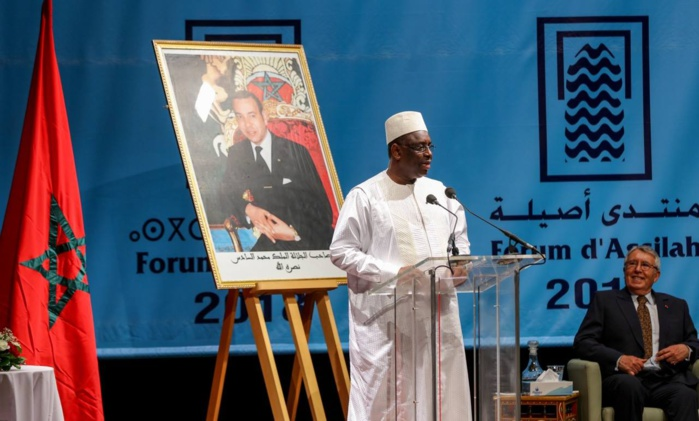Festival d'Assilah : Discours de Macky Sall sur l'intégration africaine