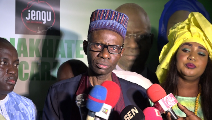 """BOUBACAR CAMARA ( Ex Dg de la douane) GRONDE :  """" La gestion du Sénégal est catastrophique et enrobée de mensonges '"""