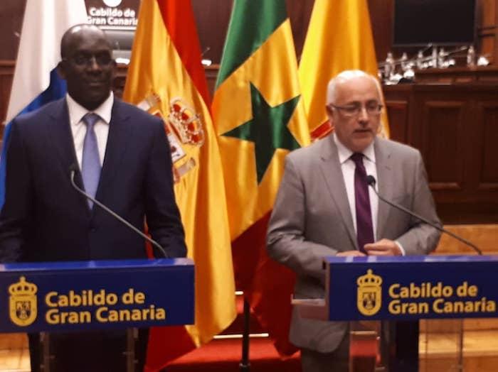 Ile de Gran Canaria : Diouf Sarr actionne les leviers de coopération pour une meilleure prise en charge medicale