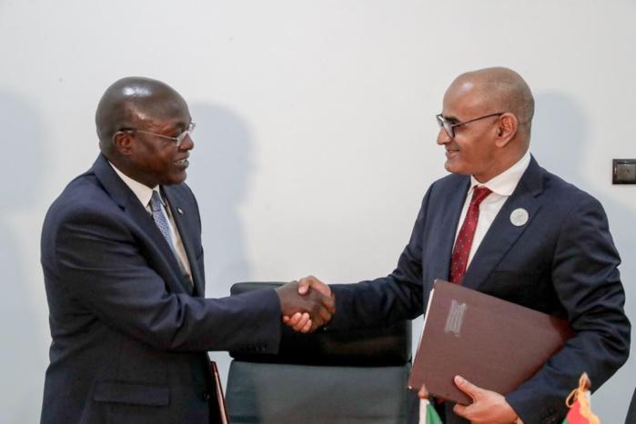 Pêche : Des accords-cadres signés entre le Sénégal et la Mauritanie (Images)