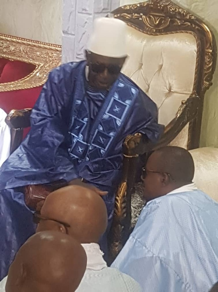 TOUBA - Serigne Bass Abdou Khadre rend visite à Serigne Sidi Abdou Lahad Mbacké