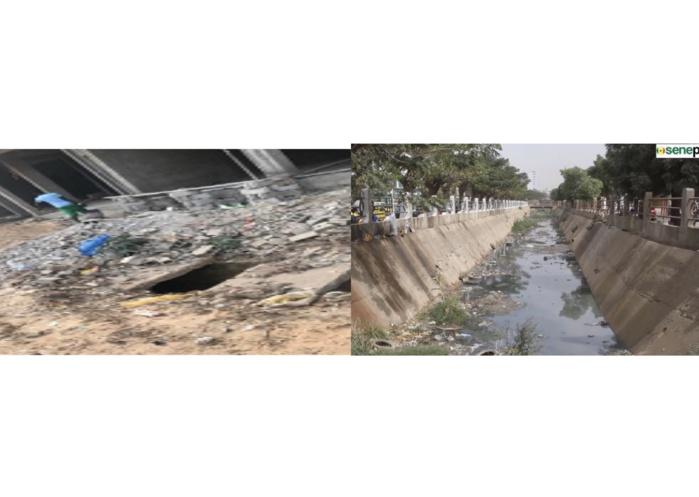 Grand-Yoff : L'ONAS annonce un dysfonctionnement du collecteur d'eaux usées principal AK3 à cause d'agents de la mairie