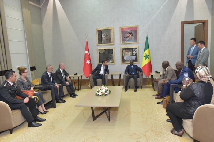 Investiture de Erdogan : Mahammed Boun Abdallah Dionne est arrivé à Ankara