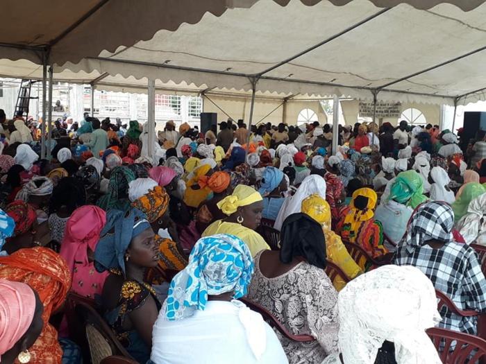 """Guédiawaye / """"Sargal Aliou Sall"""" : Néné Fatoumata Tall gagne le pari de la mobilisation"""