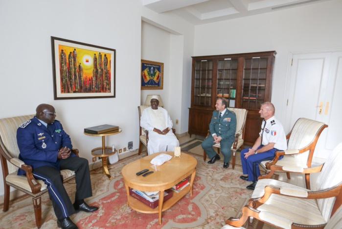Lutte contre le terrorisme : Macky Sall reçoit le directeur espagnol du projet G5 Sahel (Images)