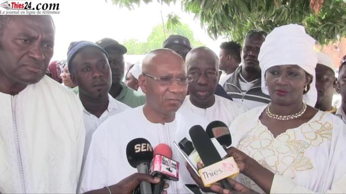 Ndiassane : Cheikh Hadjibou Soumaré reçu par le Khalife