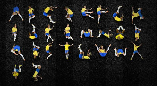 PHOTO : l'alphabet Neymar fait le buzz !