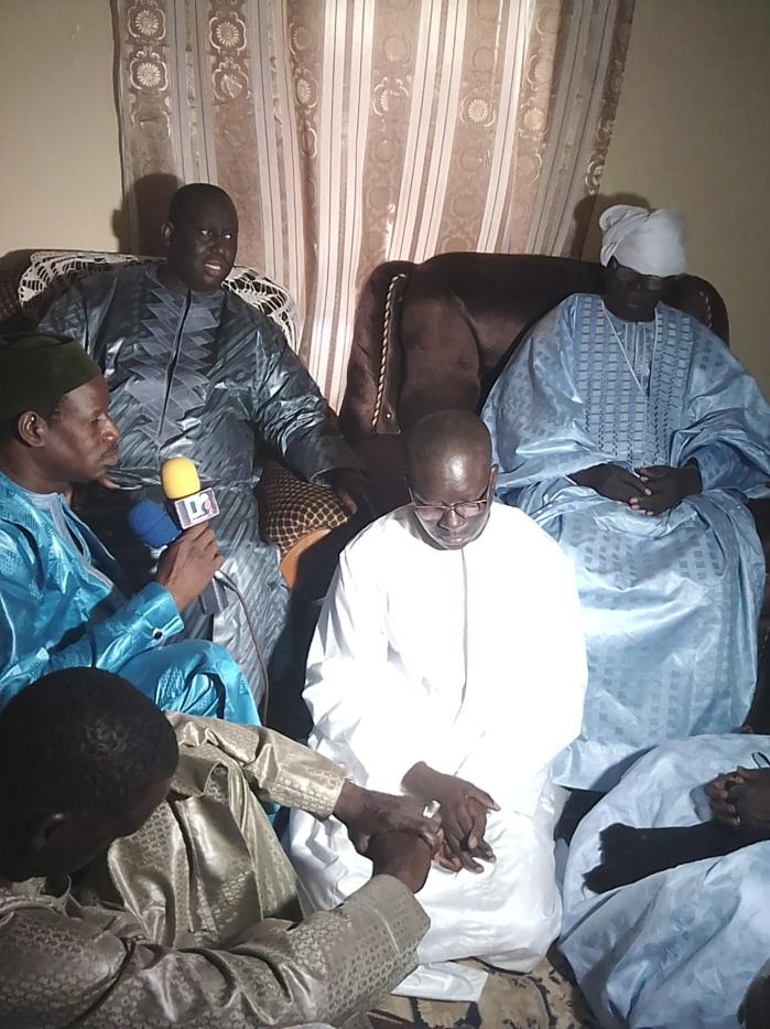 NGourane : Le khalife de la famille Mame Cheikh Déthiéllaw Seck, prie pour la réélection du président Macky Sall au premier tour en 2019