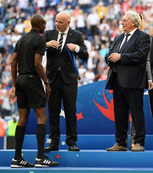 Malang Diédhiou, 4e arbitre de Belgique/Angleterre, récompensé par la FIFA