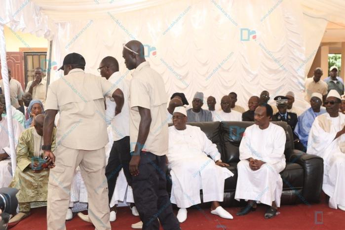 Présentation des condoléances de Macky Sall à Baba Diao : Le camouflet de la garde rapprochée du président