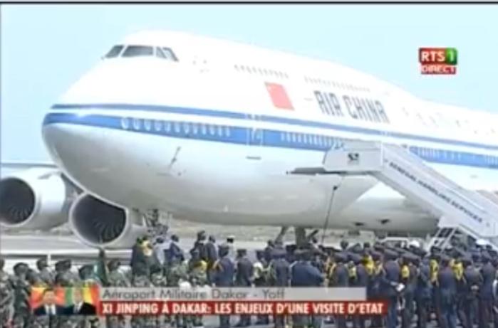 Visite officielle : Le Président chinois Xi Jin Ping est arrivé à Dakar