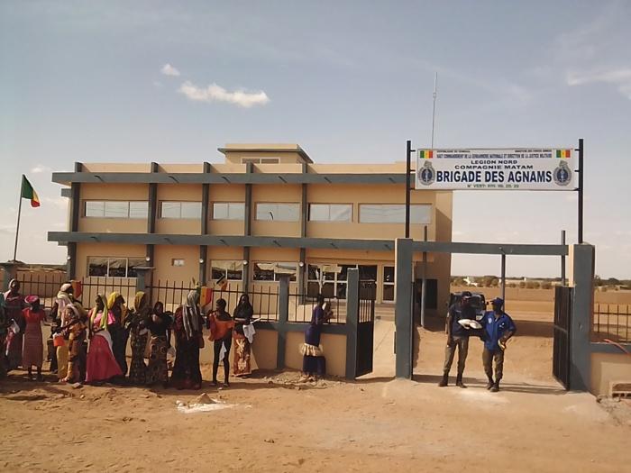 Matam : La commune des Agnams a réceptionné sa nouvelle brigade de gendarmerie