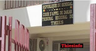 Thiès : Le greffier Mandocky Ndiaye, symbole de l'impunité