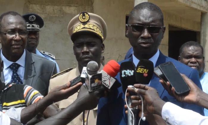 « Aucun homme de tenue n'a le droit de torturer à plus forte raison de tuer des détenus » (Ismaïla Madior Fall rendant visite aux détenus de la MAC de Saint-Louis)
