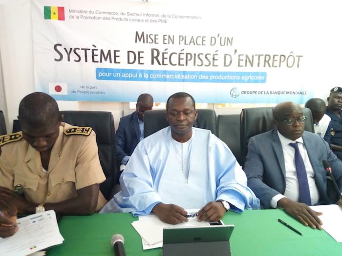 Lancement du Système de Récépissé d'Entrepôt de Marchandises : Le ministre Alioune Sarr renforce et rassure les producteurs de la Vallée