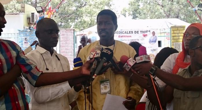Thiès : Talla Sylla adoube la couverture maladie universelle et lance un appel aux Thièssois de la diaspora pour la prise en charge sanitaire de leurs concitoyens