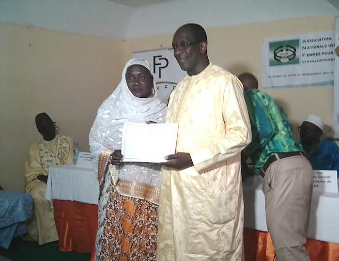 Association nationale des femmes pour le développement : 40 femmes formées aux techniques de fabrication du savon pour un montant de 4 millions