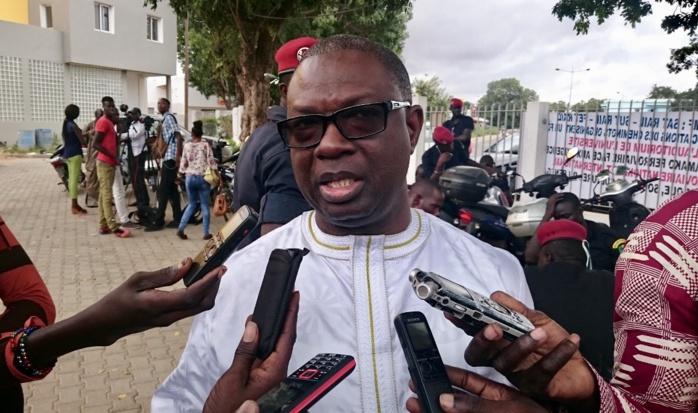 """Joseph Gabriel Sambou, DG Dakar-Bamako Ferroviaire sur la précarité dudit secteur : """" Quand un Dg se permet toutes les 48 heures d'appeler le financier pour faire un arbitrage budgétaire des dépenses, ça c'est de la vraie précarité."""