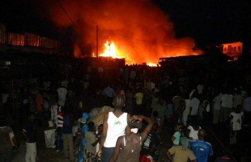 Poste Thiaroye : Un incendie dans un magasin de pièces détachées fait des dégâts à hauteur de 10 millions de FCFA