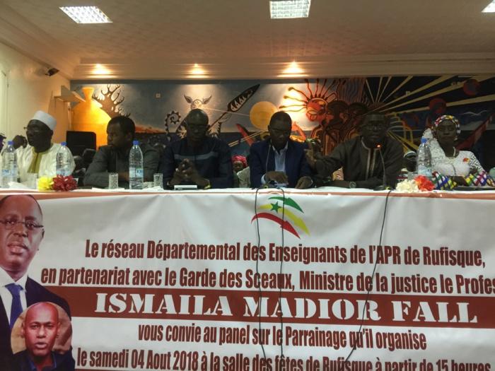 « Le parrainage va révolutionner la politique au Sénégal, il va complètement changer les paradigmes de la vie politique Sénégalaise. » Ismaila M. FALL (Ministre)