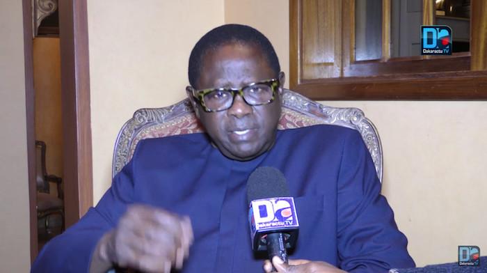 """Pape Diop répond au Président : """" le glas de l'ère Macky SALL a sonné et la hantise de l'après pouvoir ont fini de faire effet sur lui."""""""