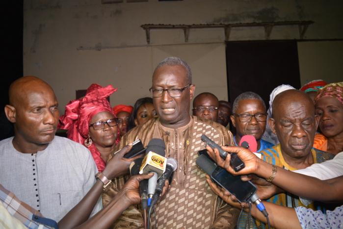 « Il est temps que le chef de l'Etat reçoive la coordination départementale de BBY  de Rufisque » (H. D. Souleymane Ndoye)