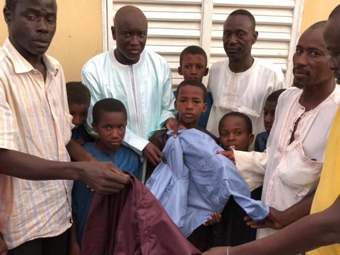 Linguère : Aly Ngouille Ndiaye habille 100 talibés