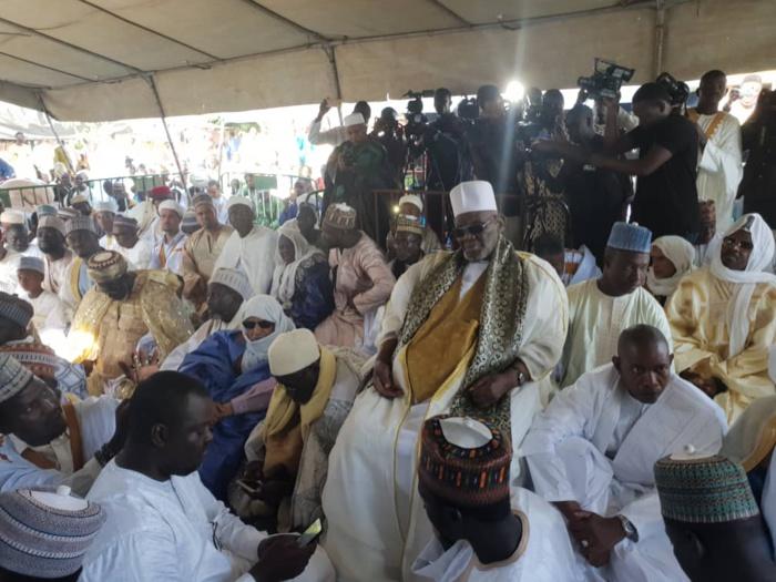 Prière de Tabaski à Kaolack : Le Khalife général de Médina Baye prie pour que le chef de l'État puisse achever les chantiers entamés.