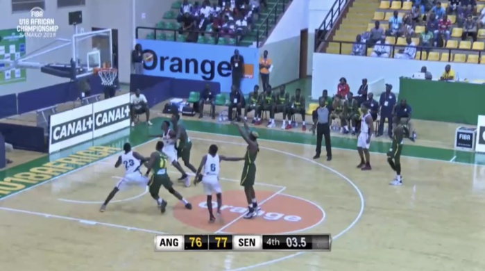 Championnat de basket U18 : Les « Lionceaux » gagnent sur le fil leur premier match face à l'Angola (77-76)