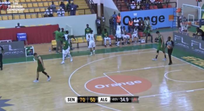 Championnat de Basket U18 / Phase de groupe : Le Sénégal s'impose largement face aux « fennecs » d'Algérie (70-50)