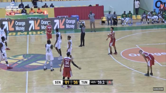 Championnat d'Afrique U18 basket : Le Sénégal poursuit son sans-faute en dominant largement la Tunisie (81-38)