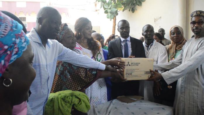 Saint-Louis / La Fondation Servir le Sénégal au chevet des insuffisants rénaux, des handicapés et des femmes
