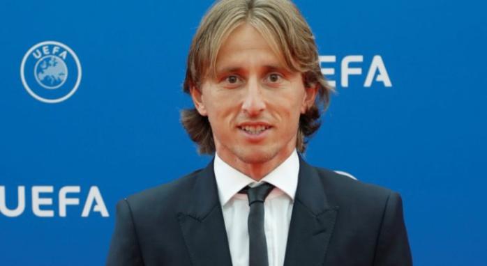 Luka Modric élu joueur de l'année UEFA