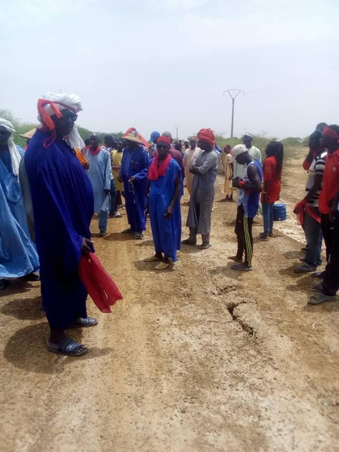 ILE A MORPHIL DANS LE PODOR : Les populations ont marché pour réclamer la réhabilitation de la route Diatar/Alwar