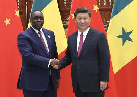 Macky Sall en Chine au Sommet du Forum sur la coopération sino-africaine