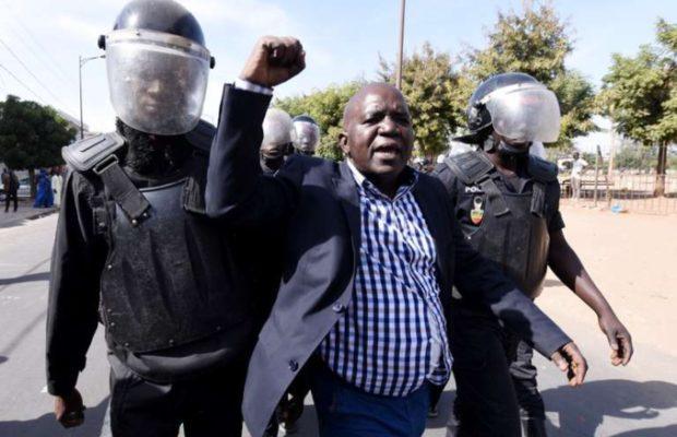 Dernière minute : Thierno Bocoum, Omar Sarr  et Thierno Alassane Sall arrêtés au rond-point Sandaga
