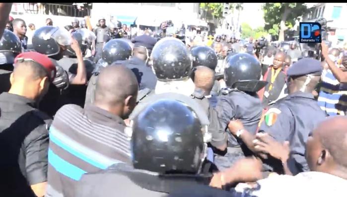 Marche : Les leaders de l'opposition libérés