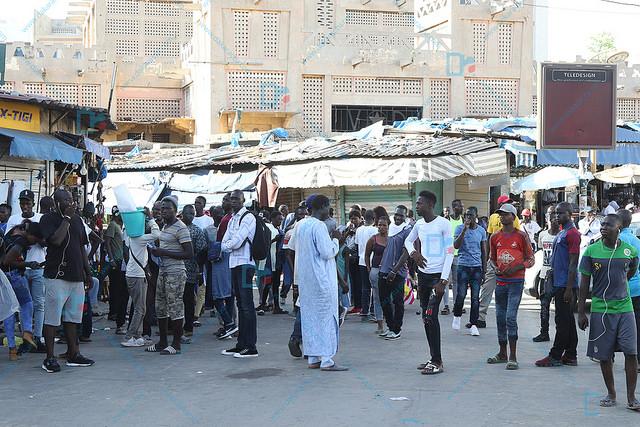 Après avoir appelé les sénégalais à assiéger la place Washington : L'opposition fait son marché à Sandaga