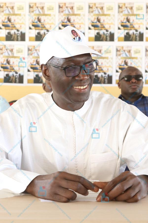 Parrainage : L'ancien DAGE Abdoulaye Ndour ouvre ses listes à Nord Foire. (IMAGES)