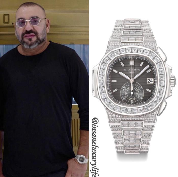 MAROC : La montre à 1,2 million de dollars de Mohammed VI fait polémique
